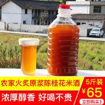 青梅果酒浸泡酒5.18L度29.5远航九江双蒸酒斤装广东米酒白酒10