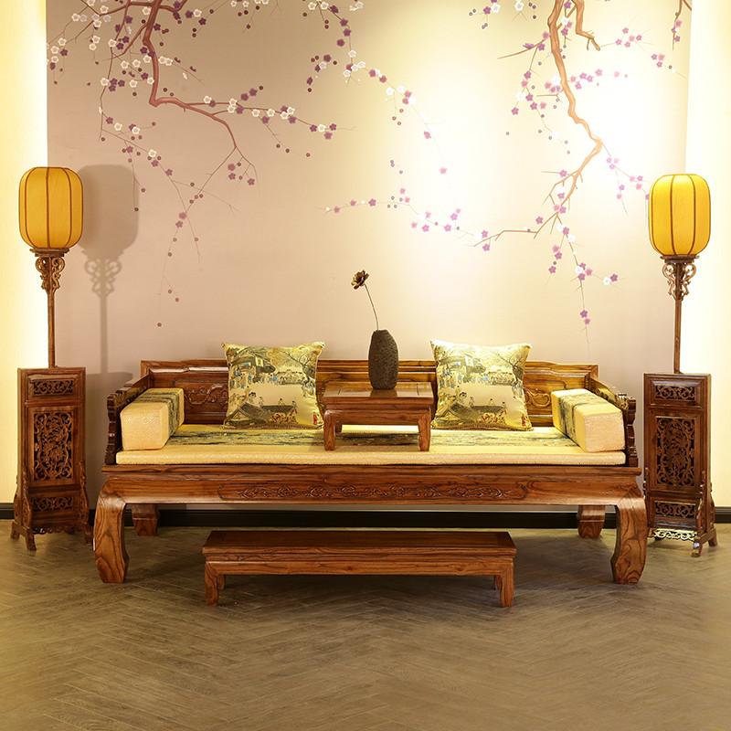 Специальное предложение дерево ocean кровать православная школа старый вяз ocean кровать ретро следующий ясно античный мебель классическая диван - кровать