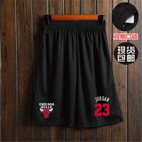 NBA短裤男夏五分裤跑步健身训练速干过膝宽松大码透气篮球裤短裤