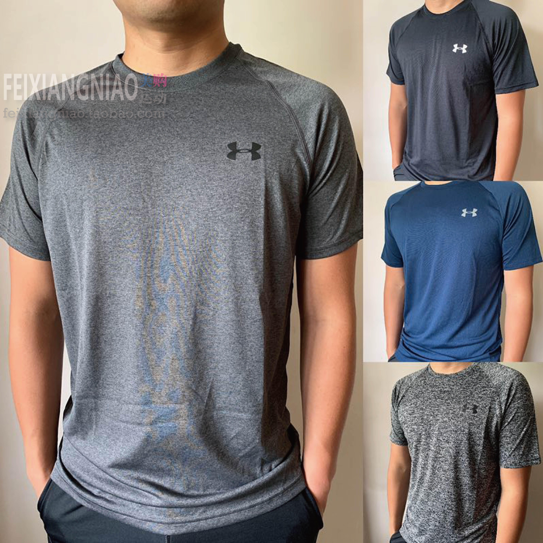 现货 Under armour 安德玛 UA 男子跑步宽松速干运动健身短袖T恤图片