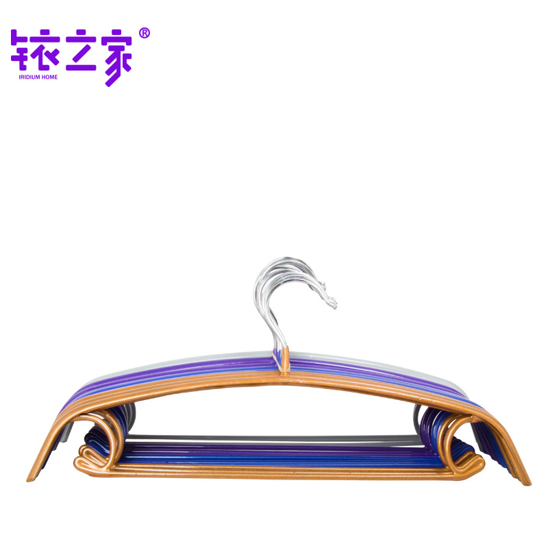 Iridium house arc antiskid dip plastic clothes hanger shirt hanger men and women drying rack clothes rack clothes support