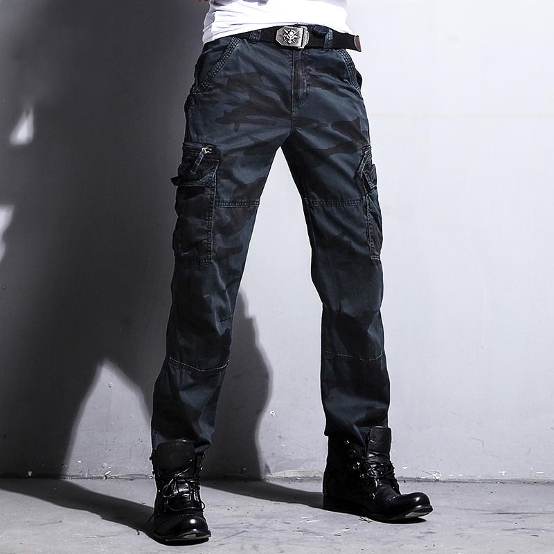 ADDT迷彩裤男长裤工装裤男 多口袋军装迷彩休闲户外特种兵战术裤 Изображение 1