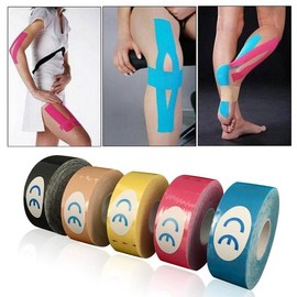 Mayitr One Roll Elastic Kinesiology Sports Tape Muscle Pain