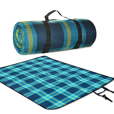 Outdoor damp proof mat picnic mat 175 * 220 enlarged thickened and widened waterproof comfortable spring outing tent camping mat