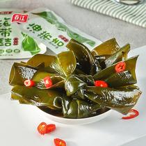 香辣海带丝即食下饭菜鲜香香辣麻辣海带丝102g袋24