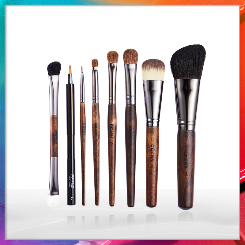 Yan 8 makeup brush, eye shadow brush, high gloss, brush, powder, lip brush, foundation blush brush, makeup tool set.