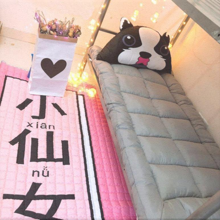 限7000张券KDEAR一米开学床垫软垫折叠垫2.2m学生简约咖色单人1米四季新品棉