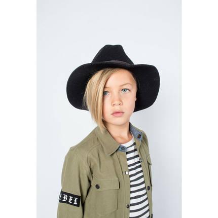 在途现货 澳洲SUDO KIDS 休闲短袖T恤 条纹 拼色 前短后长
