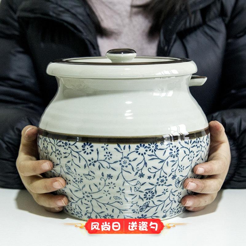 和风四季加大号1.2 l猪油罐盐罐