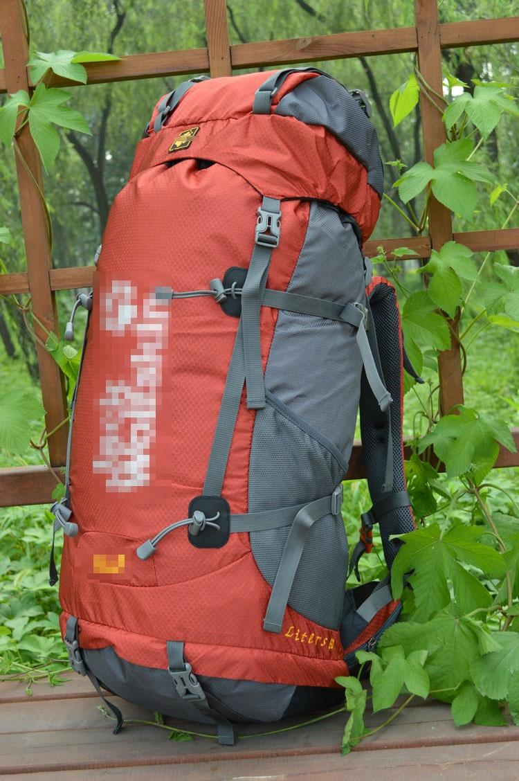 外贸原单男女户外60L登山包野营专业登山包旅行双肩背包50 60L