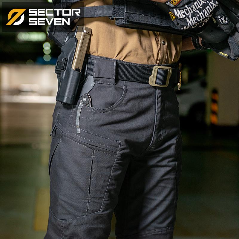 第7区 ix8斥候战术长裤男春秋军迷特种兵户外作训野战多袋工装裤