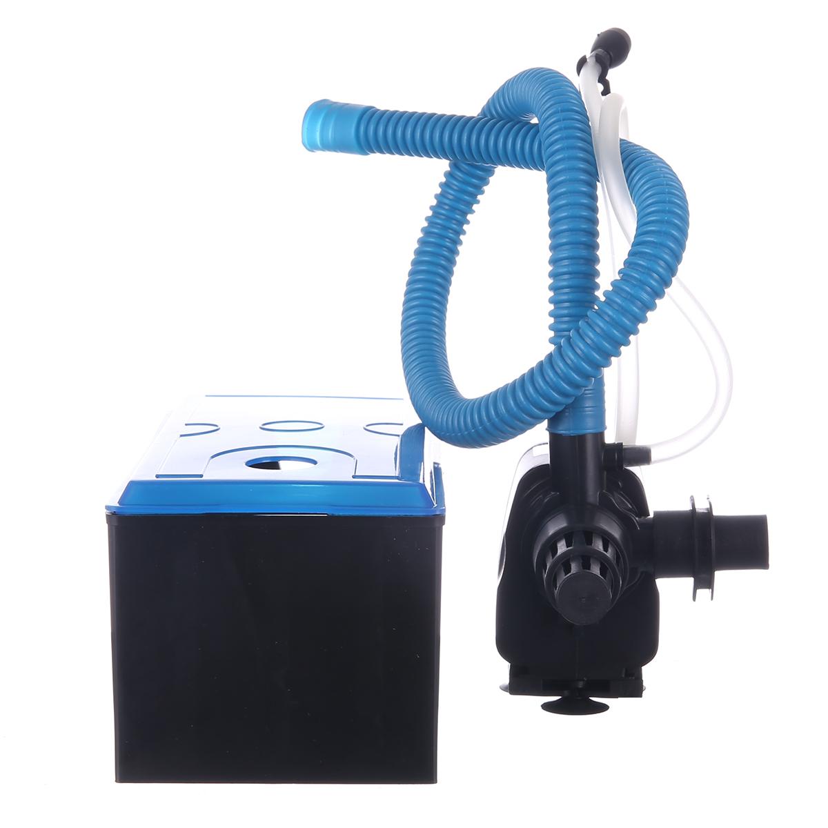 上濾式魚缸過濾器三合一水族箱龜缸上置過濾設備魚缸滴流盒過濾盒