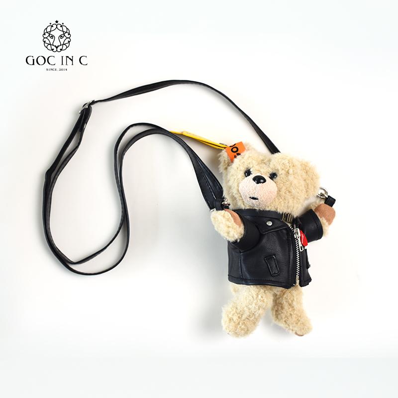 GOC IN C抱抱小熊充电宝可爱卡通超萌便携10000毫安移动电源女款图片
