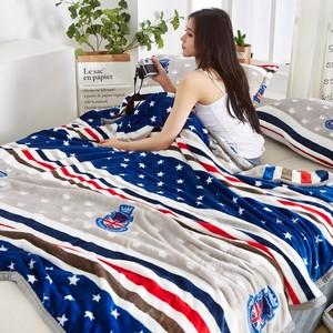 有好货加大保暖绒毯毛巾被 单人加厚双人线毯 被子毛毯单人冬