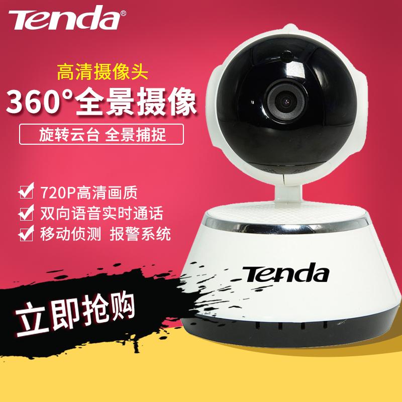[腾达] без [线] камера [C60S 智能] без [线网络摄像机] высокая [清夜视头家用手机远程]