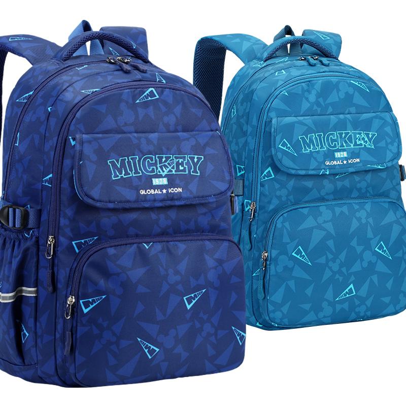 迪士尼小学生书包三到六年级减负护脊超轻便男女童儿童大容量背包