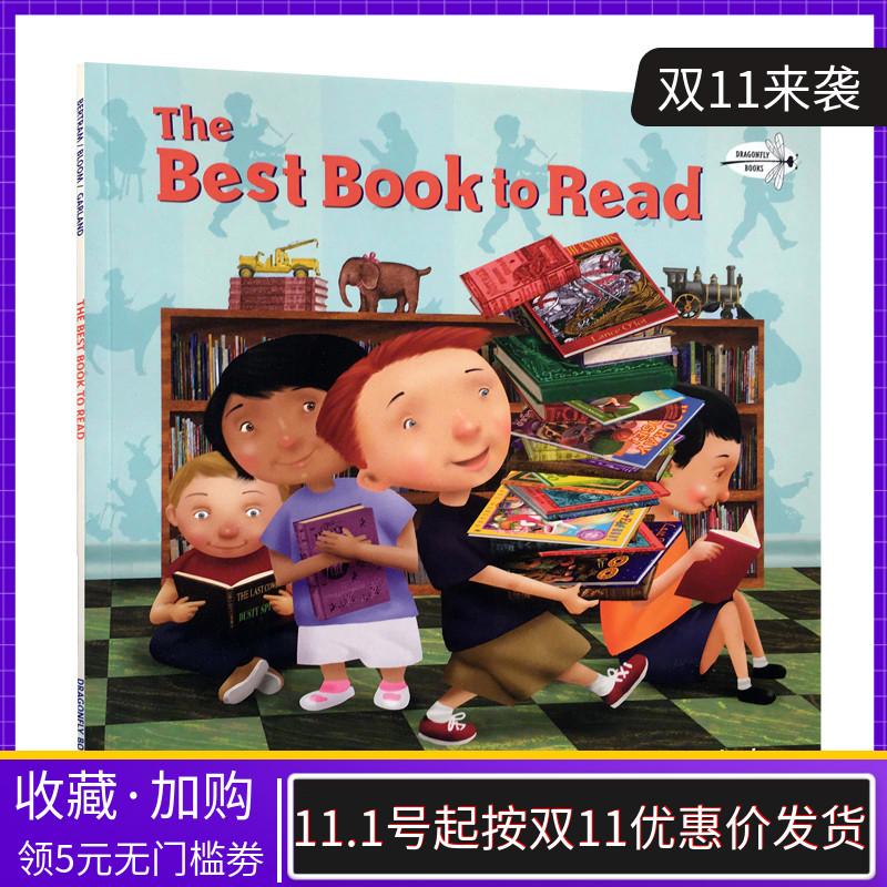 英文原版童书绘本 The Best Book to Read 读好书 插画Michael Garland