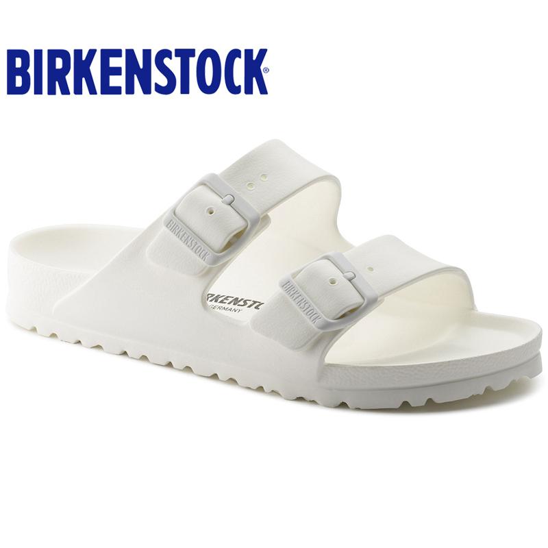 Birkenstock夏季男女中性轻质防水沙滩泳池两扣凉拖鞋Arizona EVA