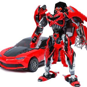 变形玩具金刚5 暗黑大黄蜂毒刺红蜂汽车机器人现货益智手动拼装