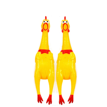 Decong pet toys scream desperately chicken, cat and dog scream toys