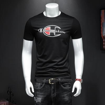 新款丝光棉短袖T恤 523-P60