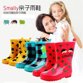 中小学生防滑耐磨雨靴卡通男女中大童中筒儿童雨鞋加厚四季通用