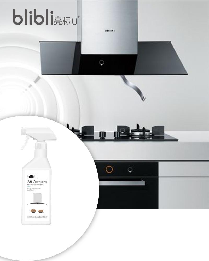亮标油污清洁剂厨房去油污油烟机多功能油污净清洁重油污剂450克