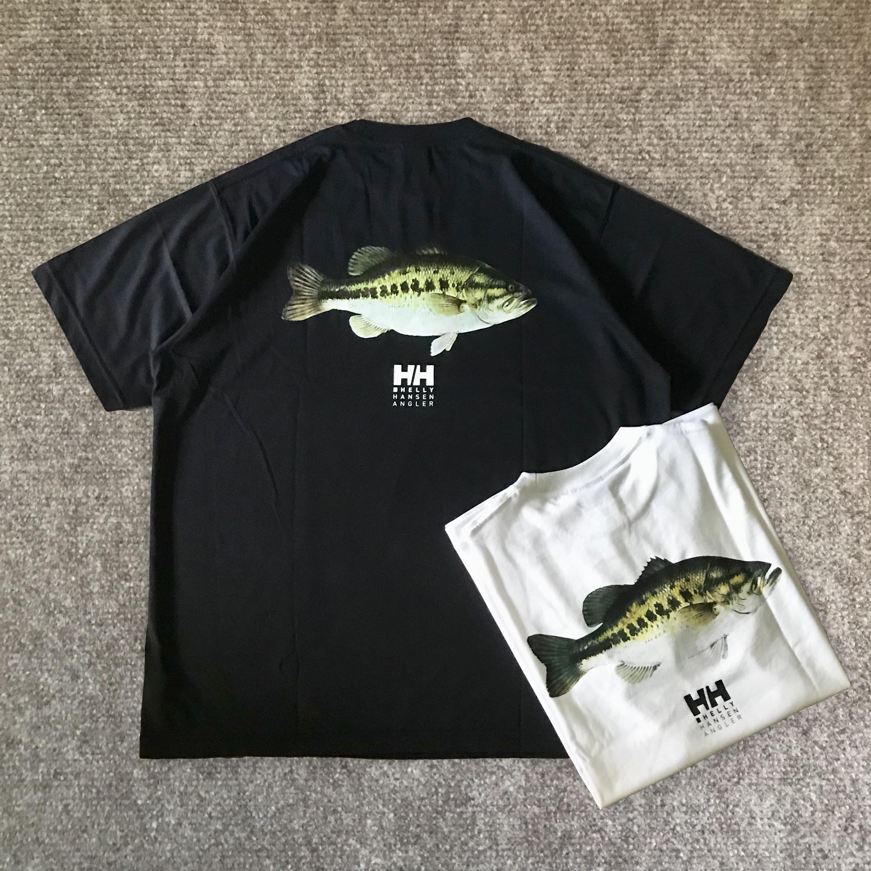 【现货】BEAMS 20ss HELLY HANSEN HH联名限定 Angler T 短袖T恤