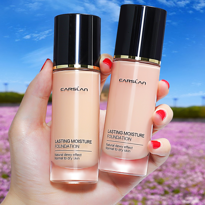 Kazi Lan Powder Foundation Concealer Sahaw Wet Sully Does Not Continuous BB Cream Female Color Peel Milk Cat Official Genuine