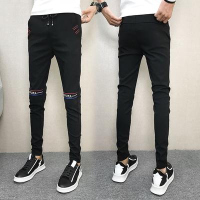 秋装2018男士修身休闲裤小脚长裤508K2289P45