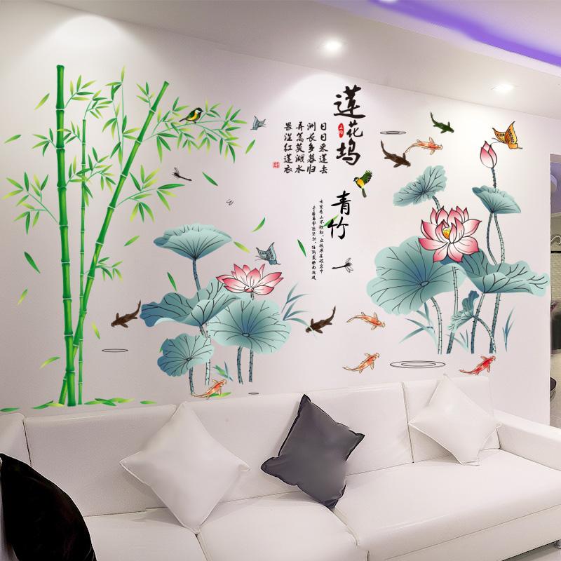 墙贴画客厅沙发电视背景墙自粘墙纸