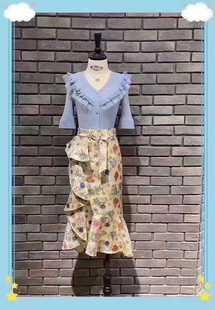MAXRIENY 瑪克茜妮 專櫃正品2020夏季新品半裙MC8930990072SK0