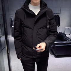 A123 W1622 P140男士冬季新款棉衣修身连帽控188