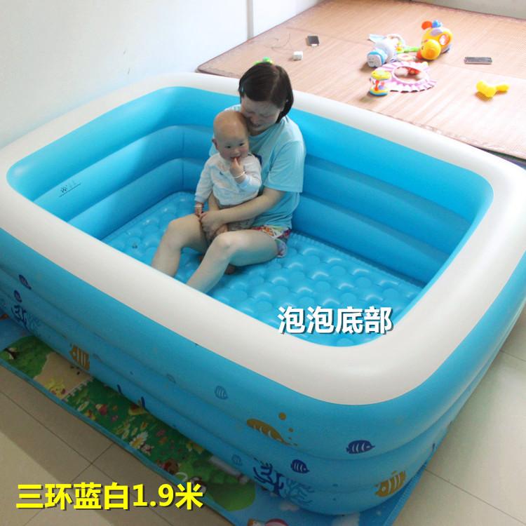 盈泰充�������和�游泳池超大�家庭�蛩�球池加厚家用成人游泳桶