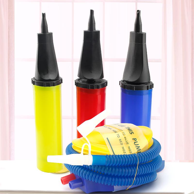 打气筒气球游泳圈充气筒手动打气筒脚踩脚踏儿童玩具皮球充气工具,可领取3元天猫优惠券