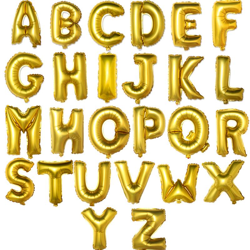 满2.00元可用1元优惠券婚房布置用品金色字母love婚庆结婚喜庆节日生日派对18寸铝膜气球