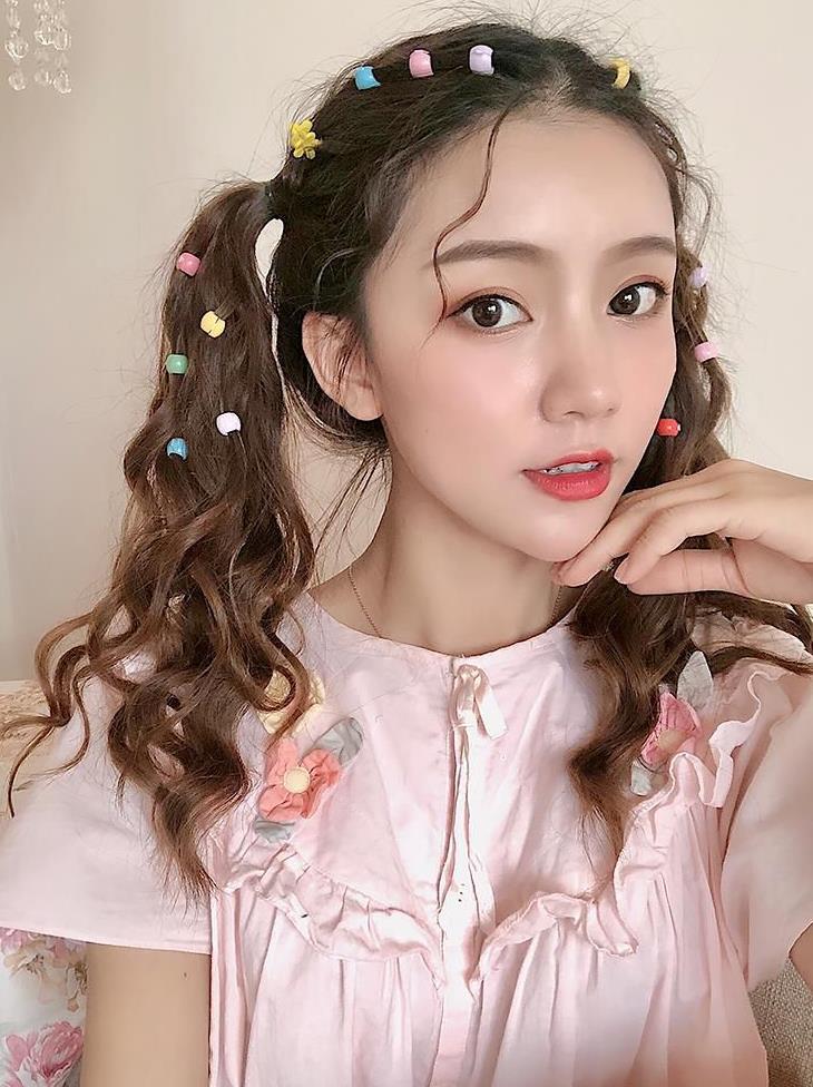 假一赔三彩色透明小孩公主漂亮泫雅小花抓夹混合装糖果色网红发夹女士流行