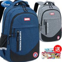 迪士尼儿童书包小学生1-3-4-6年级男孩二三四五六超轻便双肩背包