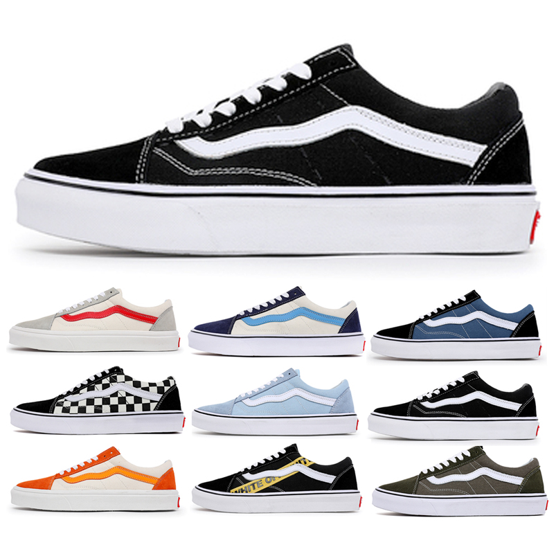 Genuine wansconton low top classic black and white summer official website leisure student sports canvas shoes womens shoes