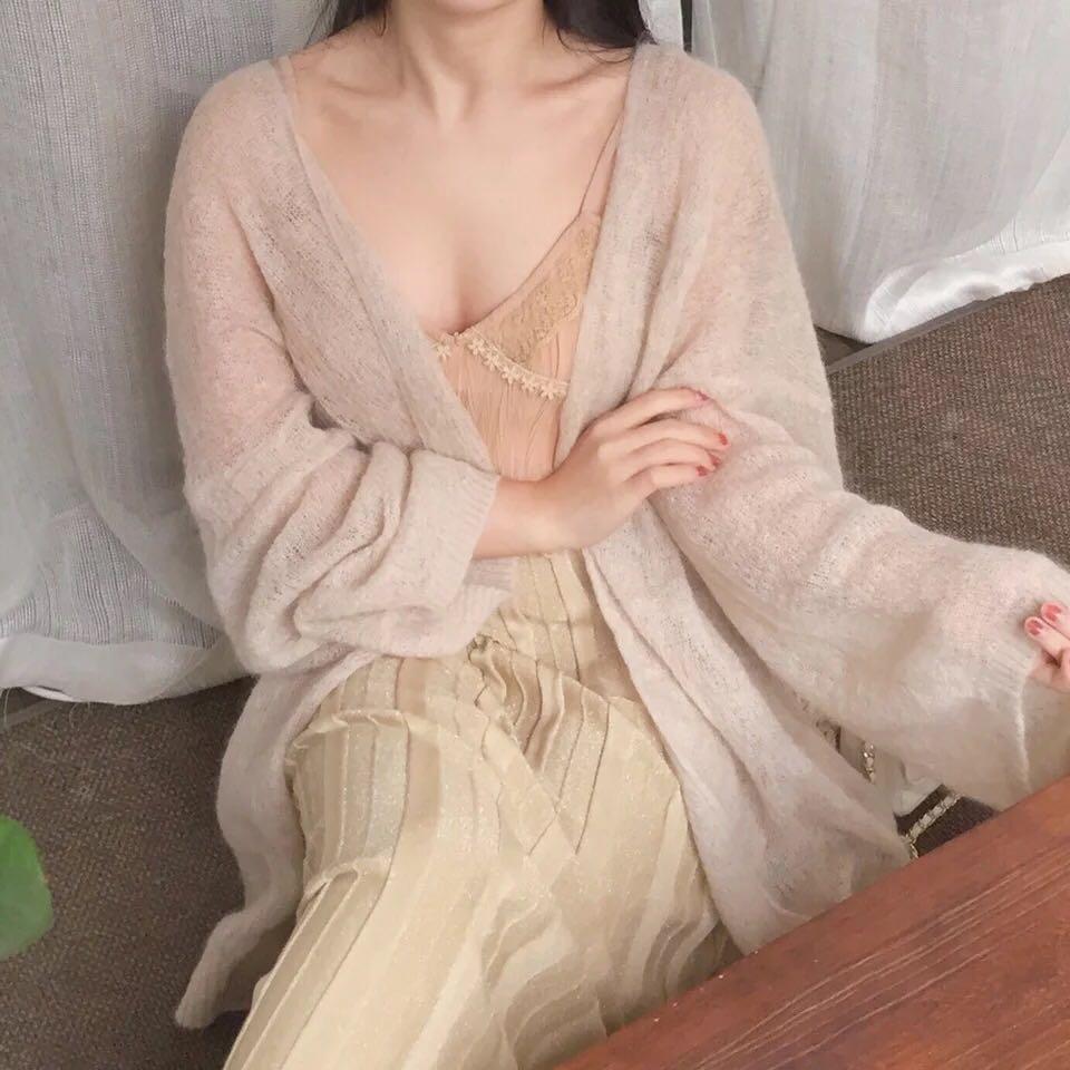 zng shop rain col同款�R海毛薄如�s翼披肩�_衫外套上衣 秋款腰��