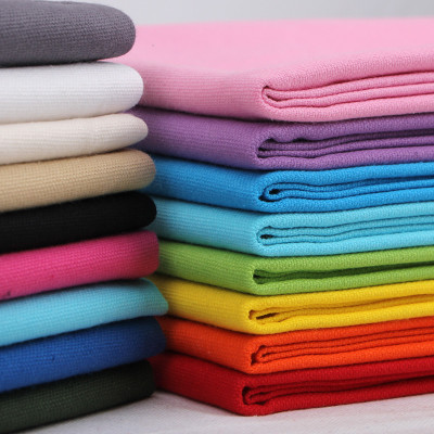 帆布布料 纯色老粗布纯棉布麻布包沙发棉麻布布料面料加厚做包