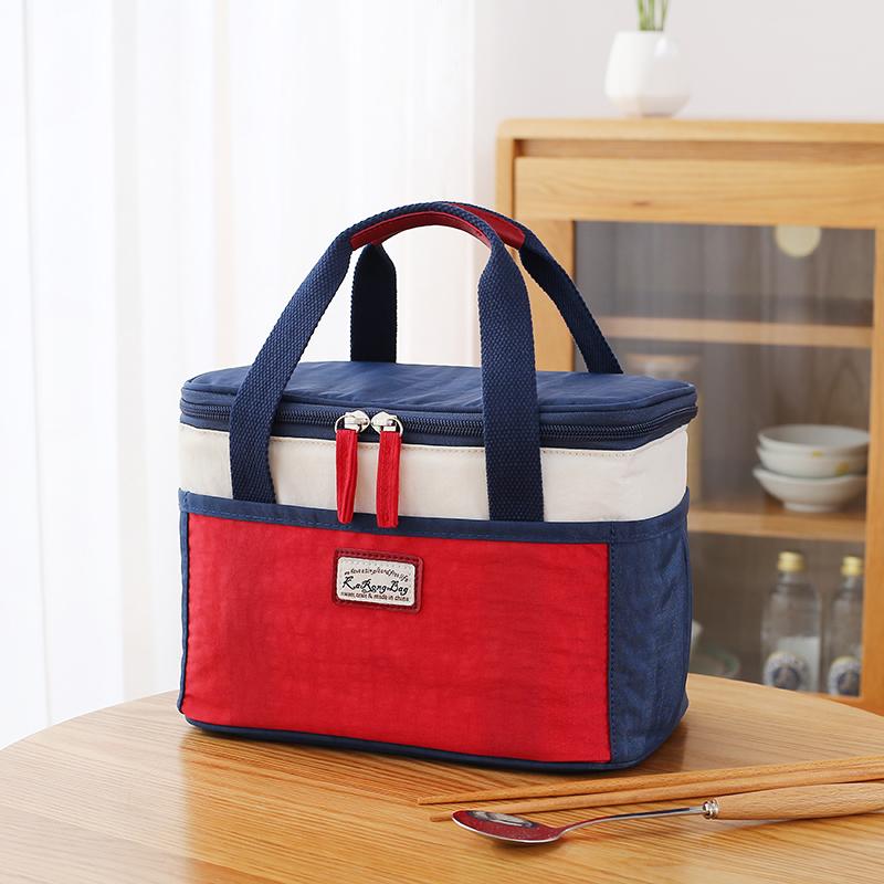 上班族带饭的饭盒袋子便当袋手提包