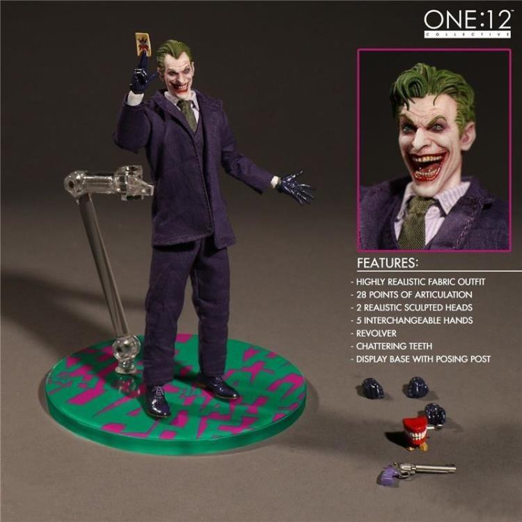 包邮现货mezco蚂蚁 6寸 布衣 One:12 漫画版 小丑 可动 手办模型