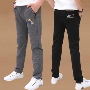 男童秋款12岁15直筒加绒冬季裤子