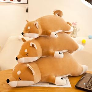 柴犬毛绒玩具狗公仔柯基犬玩偶韩国娃娃可爱女孩陪你睡觉抱枕超萌