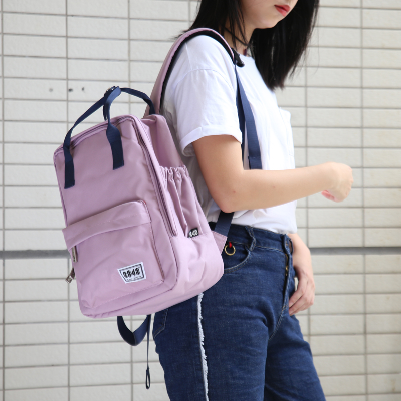 8848 fashionable Japanese and Korean childrens schoolbag portable backpack for primary and secondary school students leisure small bag for College Students