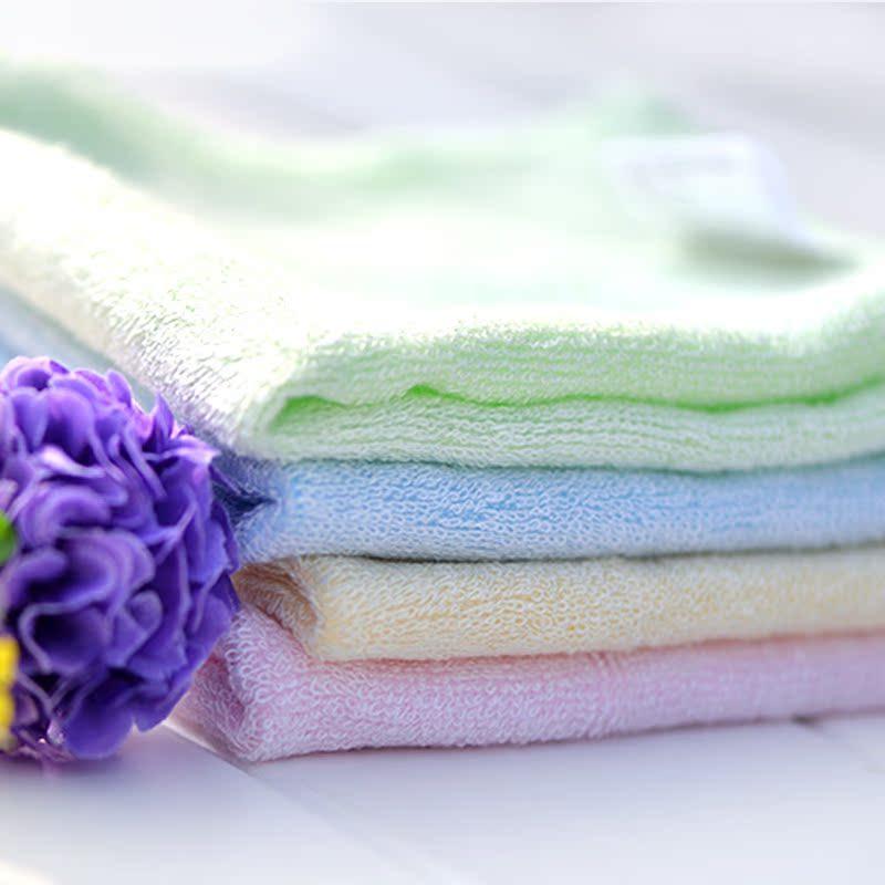 艾弗瑞竹纤维婴幼儿方巾儿童小毛巾美容护肤洗脸巾洁面柔软吸水