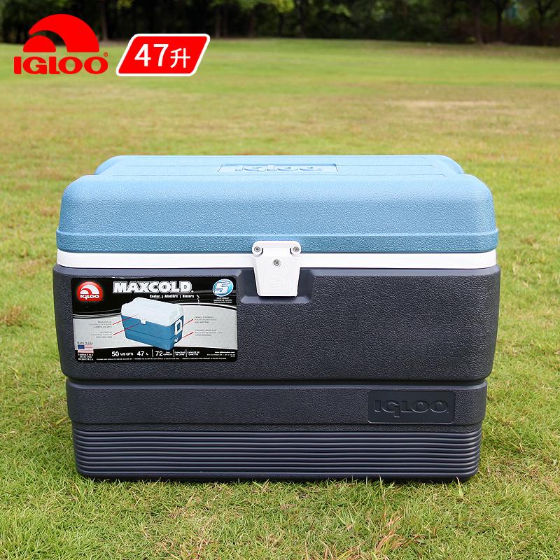 IGLOO легко прохладно музыка 47L медицинская рыбалка коробка еда сохранение тепла коробка портативный холодный тибет коробка на открытом воздухе автомобиль мор рассада лед баррель