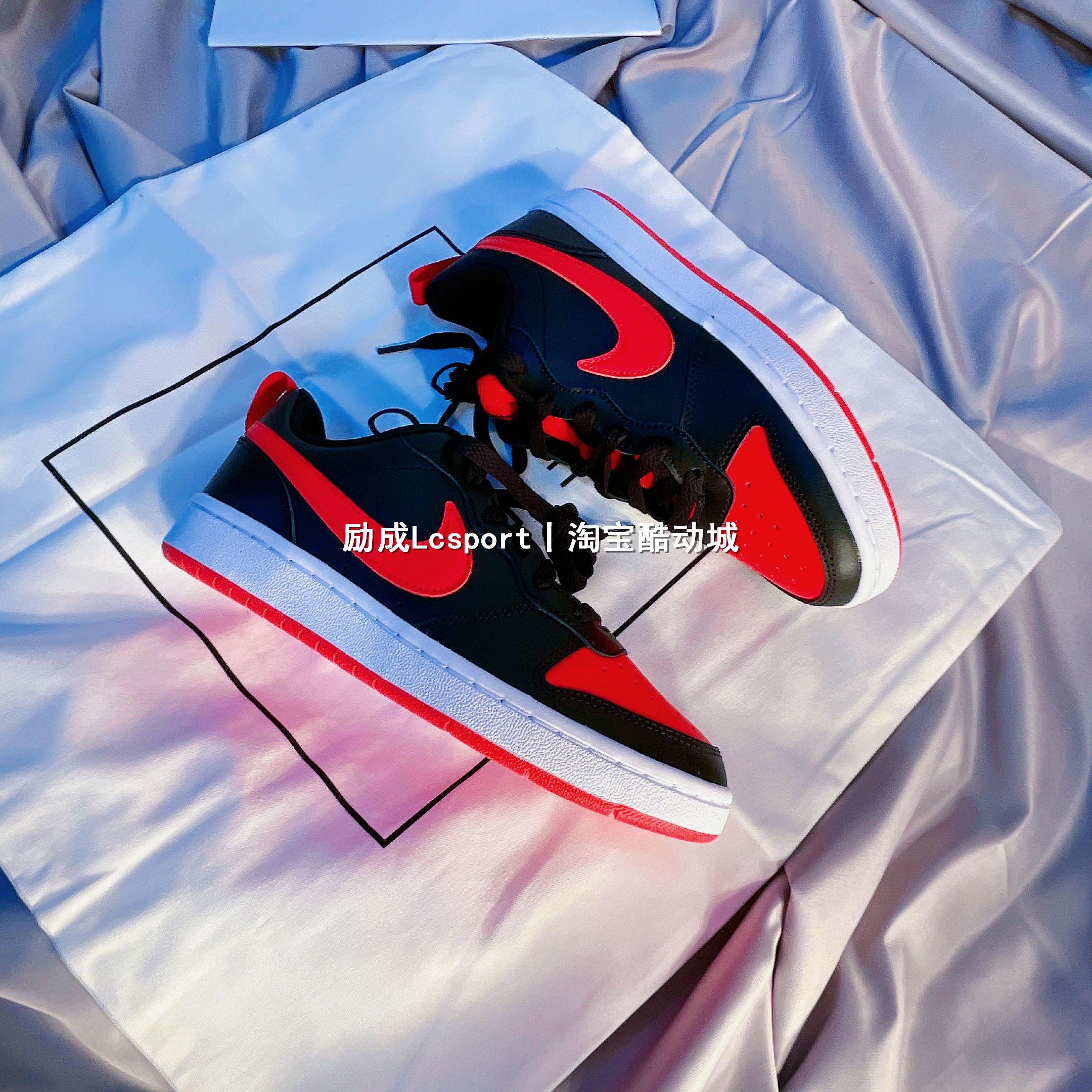 Nike/耐克 Court Borough Low 女子新款多色复古低帮板鞋 BQ5448