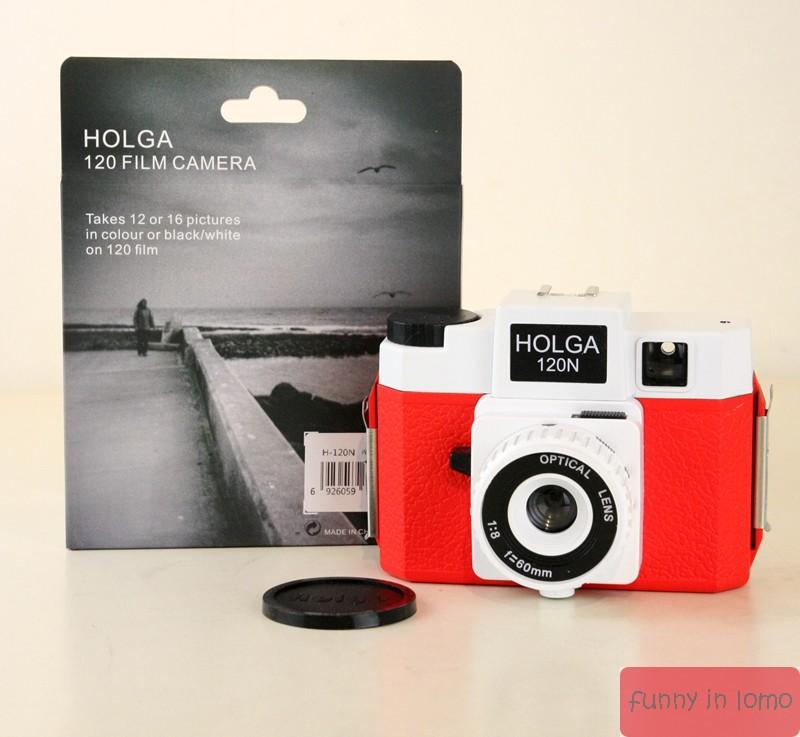Lomo camera Holga 120N leak master black color plastic resin lens 120 RPM 135 film